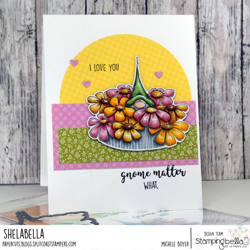 Stamping Bella Gnome Bouquet
