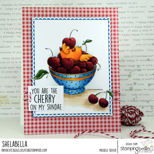 Stamping Bella Cherry Chick