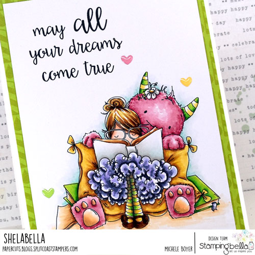Stamping Bella Tiny Townie Dorothy the Dreamer (close-up)