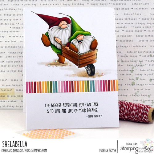 Stamping Bella Adventure Gnomes