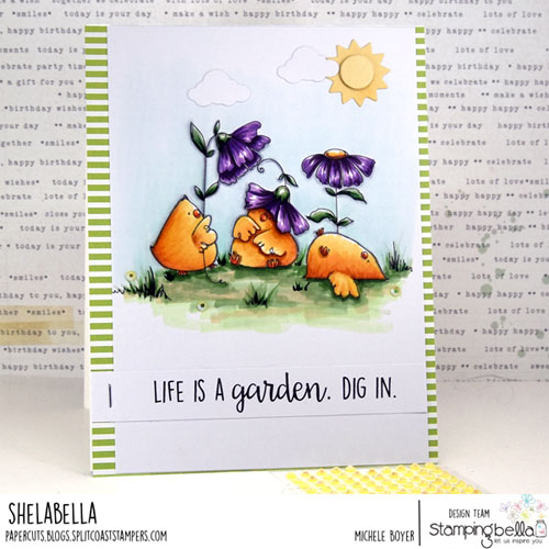Stamping Bella Gardening Chicks