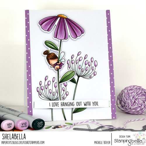 Stamping Bella Daisy Flower Set