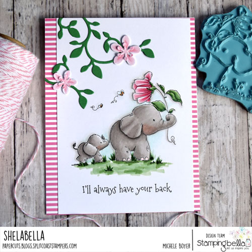 Stamping Bella I'll Always Have Your Back Stuffie