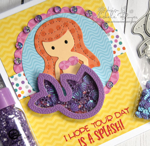 Queen & Company Under the Sea Kit - Mermaid (close-up)