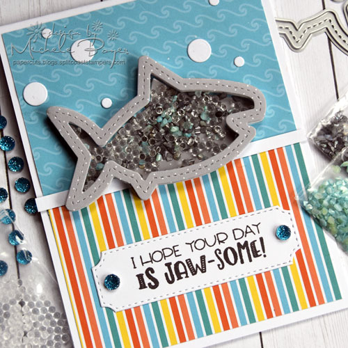 Queen & Company Under the Sea Kit - Shark (close-up)