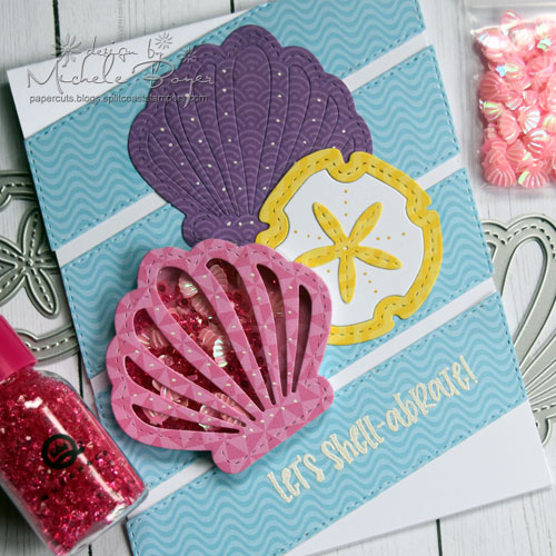 Queen & Company Under the Sea Kit - Sea Shells (close-up)