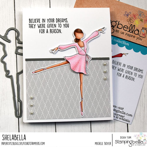 Stamping Bella Uptown Girl Stephanie Loves Ballet