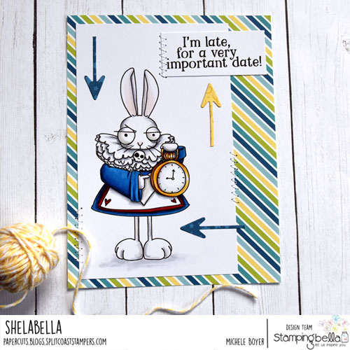 Stamping Bella Oddball White Rabbit