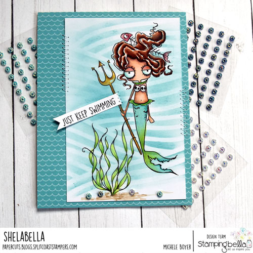 Stamping Bella Oddball Mermaid