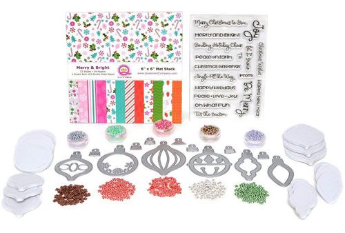 Queen & Company Merry & Bright Shaker Kit