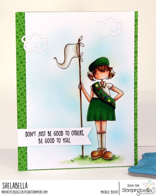 Stamping Bella Tiny Townie Girl Scout