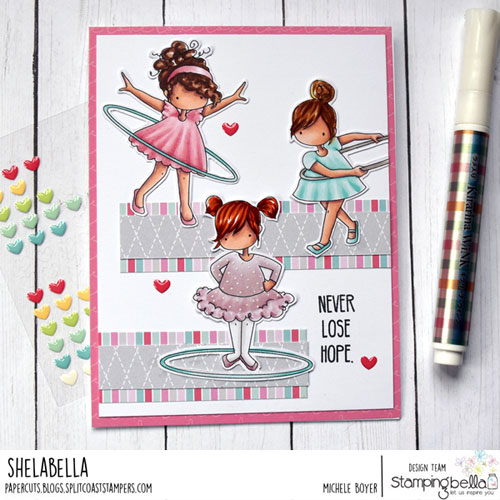 Stamping Bella Tiny Townie Hula Hoopers
