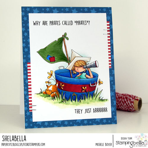 Stamping Bella Tiny Townie Pirate