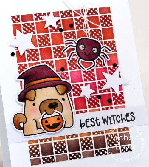 Paper Smooches Best Witches (close-up)