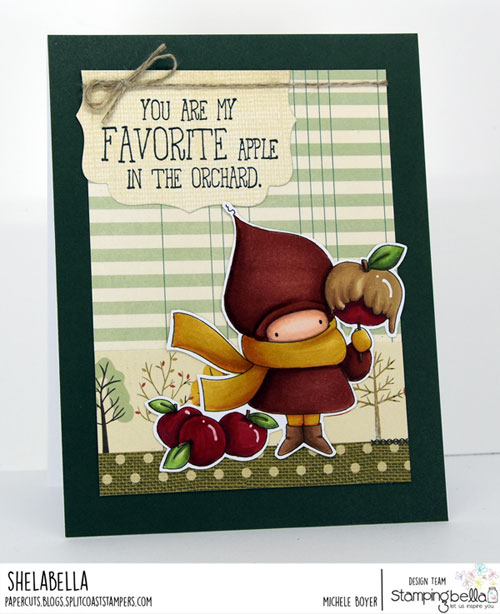 Stamping Bella Caramel Apple Bundle Girl
