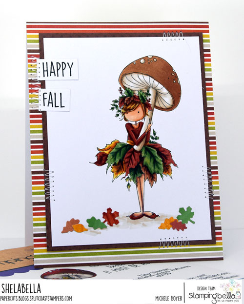 Stamping Bella Tiny Townie Autumn Loves Autumn