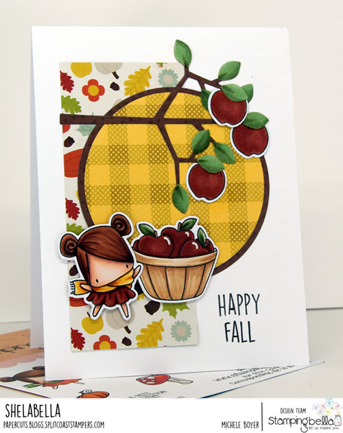 Stamping Bella Little Bits Fall Fruit