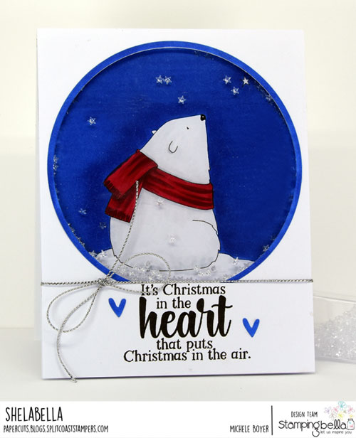 Stamping Bella Polar Bear Wishing Upon a Star