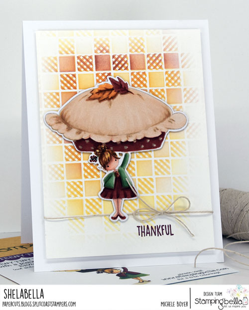 Stamping Bella Teeny Tiny Townie with a Pumpkin Pie