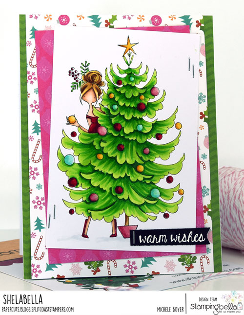 Stamping Bella Curvy Girl and her Tree