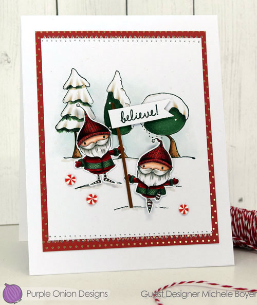 Purple Onion Designs Emmett & Emerson, Snowy Trees