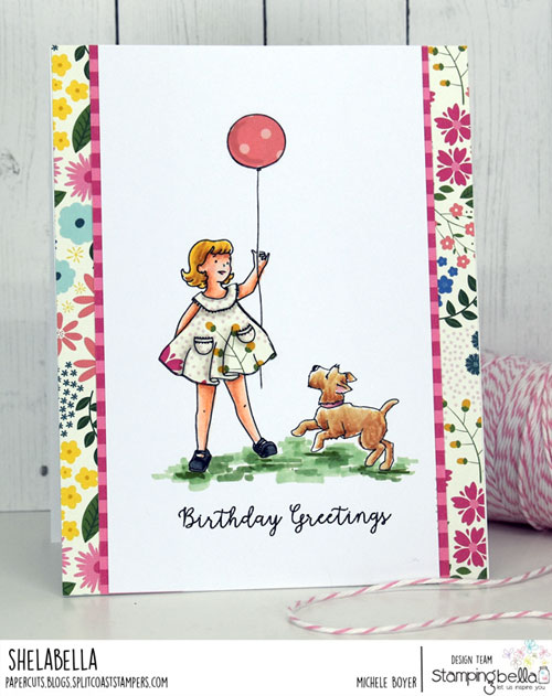 Stamping Bella Molly & Edgar Balloon and Bench sets