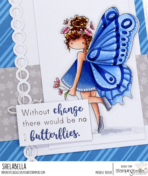 Stamping Bella Tiny Townie Brianna the Butterfly (close-up)