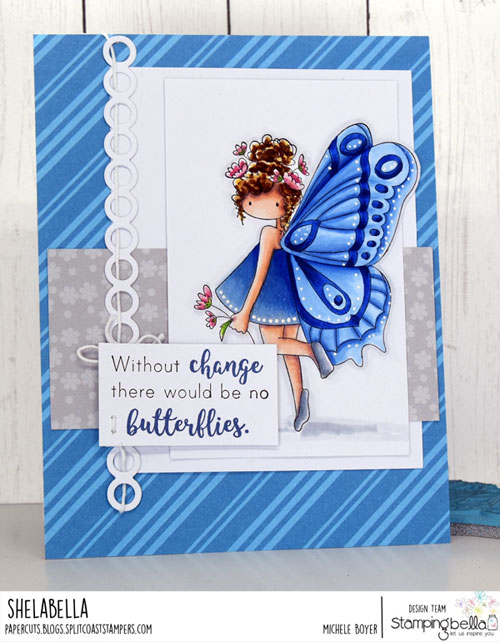 Stamping Bella Tiny Townie Brianna the Butterfly