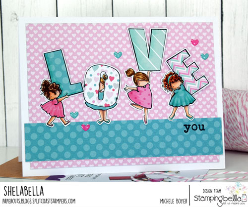Stamping Bella Teeny Tiny Townie Love