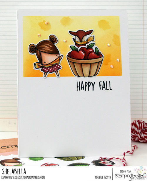 Stamping Bella Littles Fall Fruit and Nature