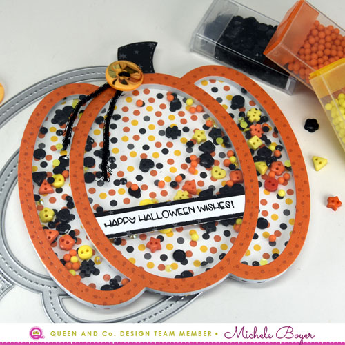 Queen & Company Pumpkin Shaker Kit (close-up)