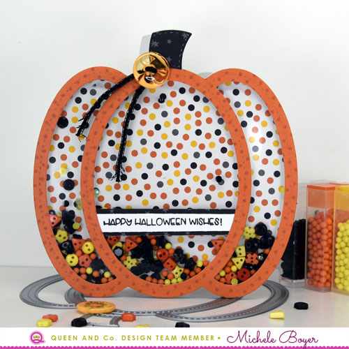 Queen & Company Pumpkin Shaker Kit