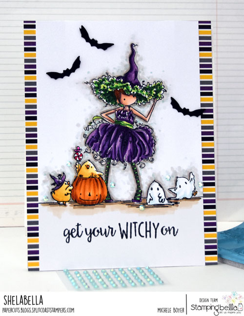 Stamping Bella Tiny Townie Willow the Witch