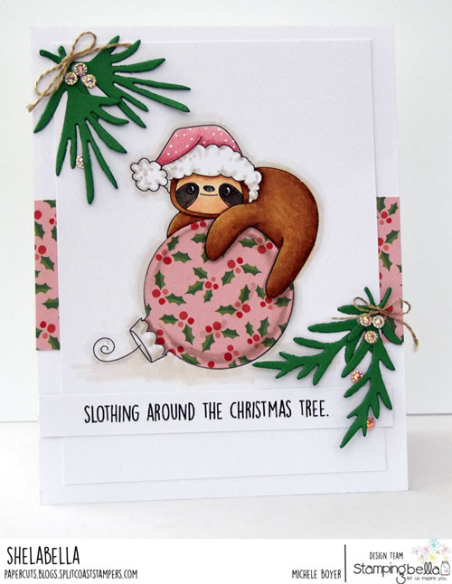 Stamping Bella Sloth Ornament
