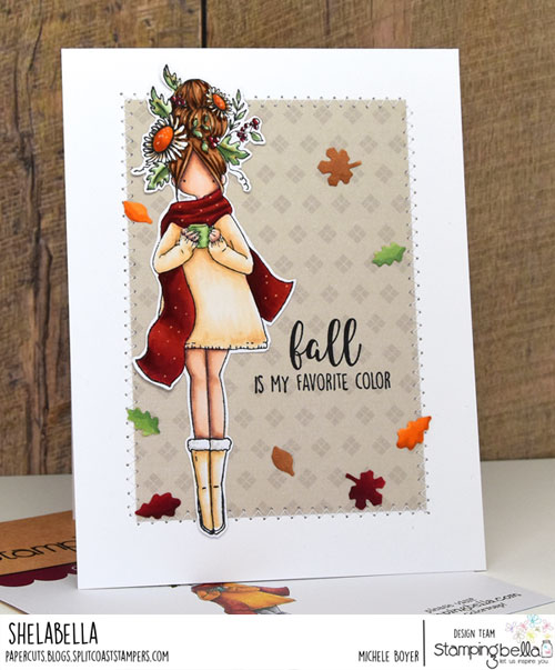 Stamping Bella Curvy Girl Loves Autumn