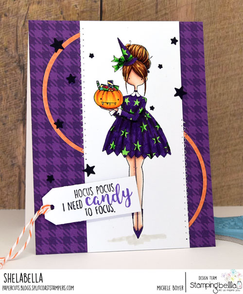 Stamping Bella Curvy Girl Loves Halloween
