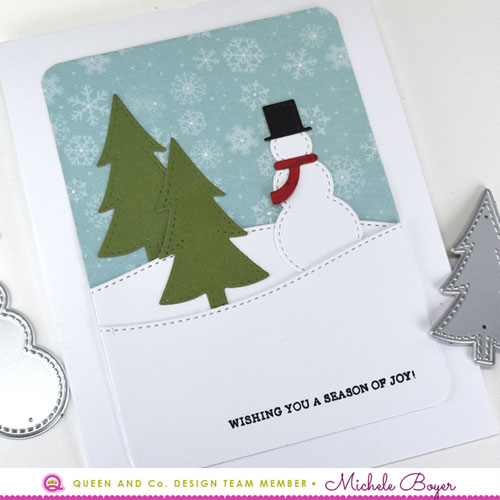 Queen & Company Winter Wonderland Shaker kit (close-up)