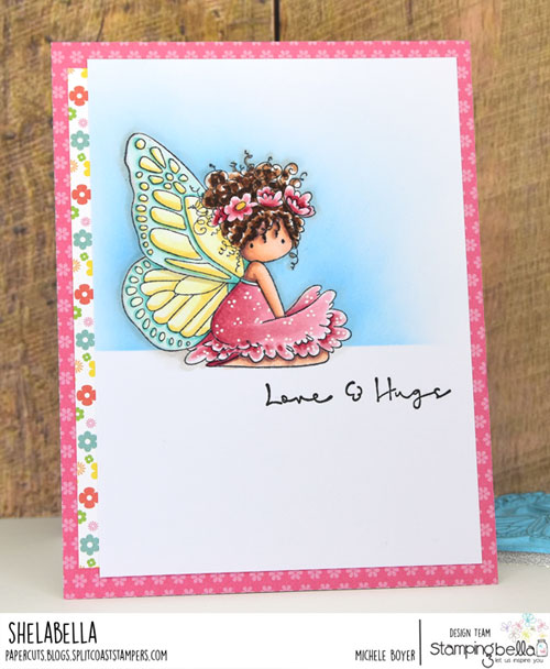 Stamping Bella Tiny Townie Bess the Butterfly