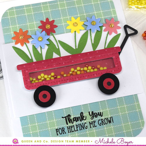 Queen & Company Garden Party Shaker Kit - Wagon (close-up)