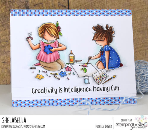 Stamping Bella Tiny Townie Crafty Friends