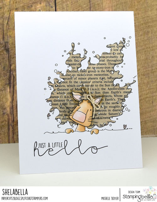 Stamping Bella Hello Dandy Lion