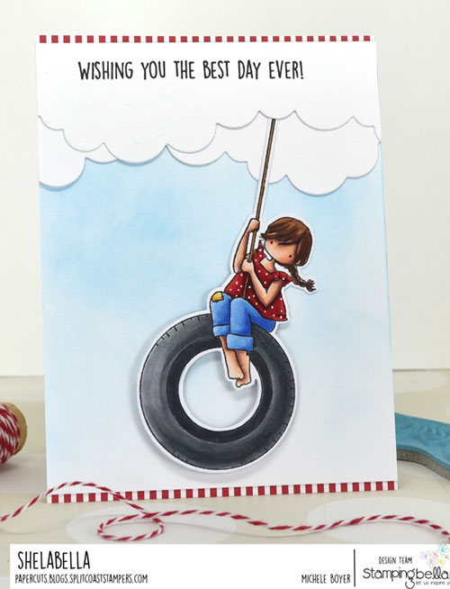 Stamping Bella Tiny Townie Tire Swing
