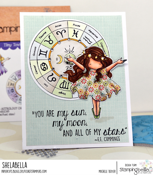 Stamping Bella Astrology Chart